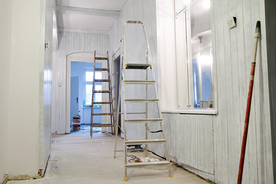 Malowanie Boazerii Na Biało Projekt Remont